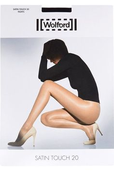 Wolford - Set Of Two Satin Touch 20 Denier Tights - Black - medium