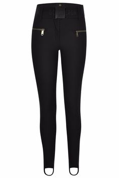 Goldbergh Paris Black Skinny Ski Pant, the best skinny ski pant at Winternational