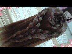 peinados recogidos faciles para cabello largo bonitos y rapidos con trenzas para niña para fiestas17 - YouTube