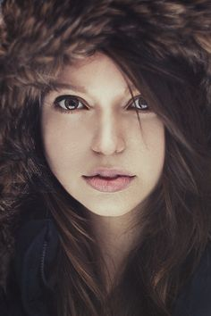 I love close ups with cool fur hats and hoods