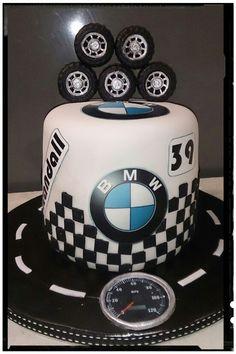 BMW CAKE FOR MY HUSBAND