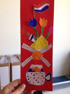 Gestapeld Nederland! Leuke knutselopdracht voor de bovenbouw met als thema Nederland. Kids Study, Teaching Tools, Netherlands, Crafts For Kids, Germany, Quilts, Holiday, Pictures, School