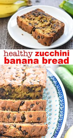 Cajun Delicacies Is A Lot More Than Just Yet Another Food Healthy Zucchini Banana Bread Is Moist And Delicious, Made With Whole Wheat Flour And Sweetened With Honey For The Perfect Way To Use Up Abundant Zucchini And Overripe Bananas Banana Zucchini Bread Healthy, Banana Bread Cake, Healthy Bread Recipes, Zucchini Bread Recipes, Banana Bread Recipes, Healthy Baking, Overripe Banana Recipes, Whole Wheat Banana Bread, Banana Flour
