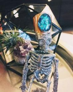 This magical ring can even double as a crown for your favorite skeleton man! ;)