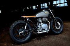 See a handful of my most favorite builds - custom scrambler bikes like Yamaha Cafe Racer, Yamaha Bikes, Cafe Racers, Vintage Motorcycles, Custom Motorcycles, Custom Bikes, Cars And Motorcycles, Brat Bike, Scrambler Motorcycle