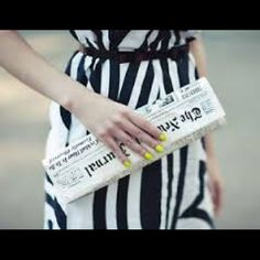 """New RARE Kate Spade Newspaper Journal Clutch Bag Brand new with tags in original plastic never opened 100% authentic . 3.7"""" H 12.3"""" W 1.3"""" D it is sold out worldwide you will love it perfect bag for the city lady , no trades , please share my listing kate spade Bags Clutches & Wristlets"""