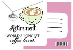 Arya Funny Puns Coffee Necklace Retirement Gifts for Women Retirement Gifts For Women, Happy Retirement, Pun Quotes, Coffee Lover Gifts, Photo Charms, Funny Birthday Cards, Funny Puns, Funny Cards, Pandora Bracelets