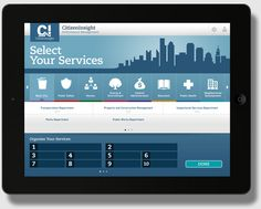 CitizenInsight iPad App by Daniel Ng Weita, via Behance
