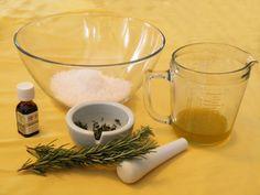 Martha Stewart foot scrub recipe