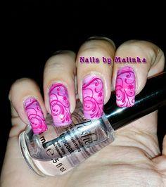 Nails by Malinka: Fan brush en Pueen SE04A