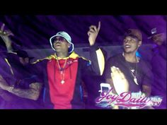 Chris Brown Does Bobby Shmurda Dance and Performs with Trey Songz In NYC
