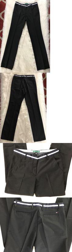 Pants 181148: Tommy Hilfiger Women S Golf Pant Size 6 Black -> BUY IT NOW ONLY: $34.8 on eBay!