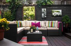 20 Comfortable Outdoor Garden Furniture Ideas in Rattan | Home Design Lover