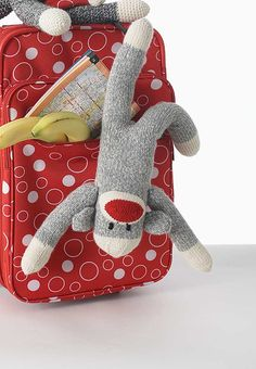 Ravelry: Basic Knit Sock Monkey pattern by Patons