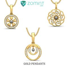 http://zomint.com/jewellery/gold-jewellery/pendant.html  Gold Pendant for your Loved ones. #valentinegifts #jewelry #zomint