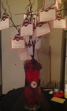 Sock monkey baby shower advice tree... Make it into an owl tree?