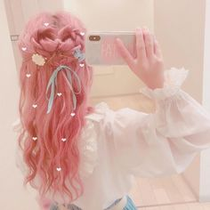 Ideas for hair goals color awesome Kawaii Hairstyles, Pretty Hairstyles, Wig Hairstyles, Hair Goals Color, Hair Color, Japan Hairstyle, Pelo Multicolor, Catty Noir, Hair Reference