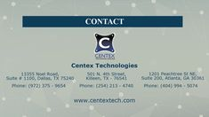 Centex Technologies is a well-known web development company serving people residing in Dallas, Texas. It offers a wide range of web development services including PHP & Dot Net Website Development, Payment Gateway Integration, etc. The web developers are highly experienced in creating user-friendly web applications to promote their client's business & products. To know more about web development services in Dallas, visit http://www.centextech.com/