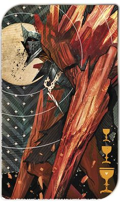 Dragon Age Inquisition Red Templars Tarot Card