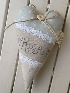 sewing idea for heart ♥