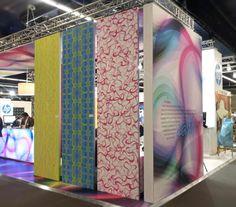 Wallpaper: HP collaborated with KARIM RASHID for Heimtextil 2013