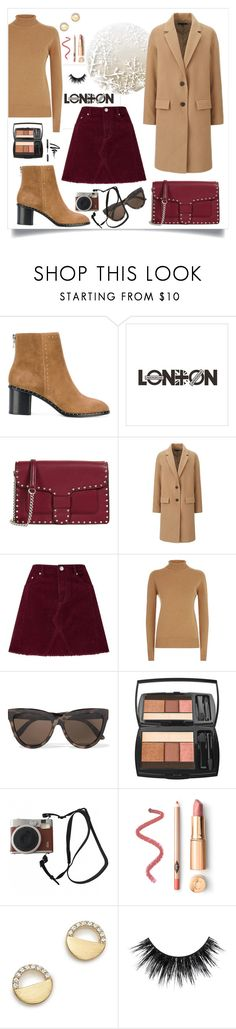 """""""#PolyPresents: New Year's Resolutions"""" by sarah-alam ❤ liked on Polyvore featuring rag & bone, Rebecca Minkoff, Uniqlo, Miss Selfridge, Victoria Beckham, Le Specs, Lancôme, Fuji, Bloomingdale's and Bobbi Brown Cosmetics"""
