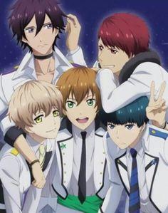 FUNimation Adds 'High School Star Musical' For Fall 2015 Anime Lineup Anime English Sub, Cool Anime Guys, Anime Boys, Hot Anime, Manga, Anime Places, Anime High School, Anime Stars, Anime Episodes