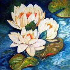 """Waterlily"" par Marcia Baldwin"