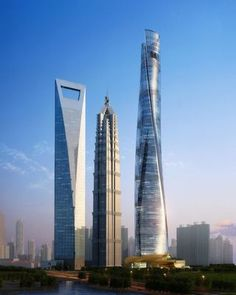 Shanghai Tower #architecture - ☮k☮