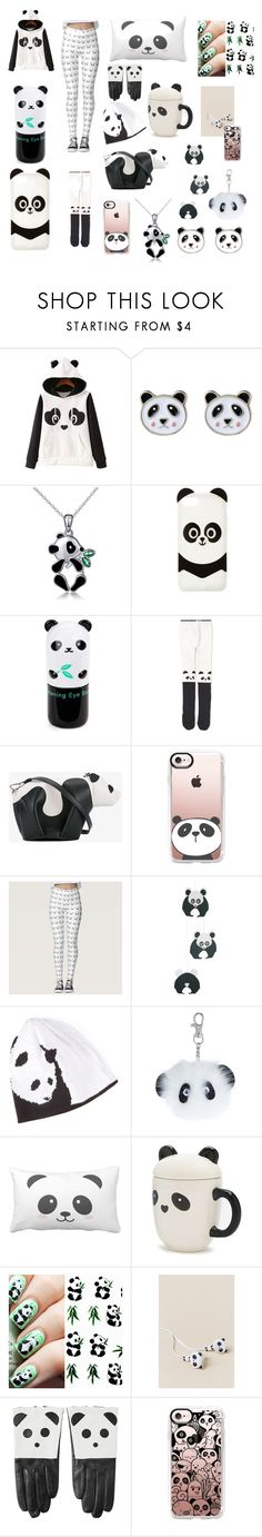 """""""Panda Perfect 🐼"""" by m-hal-05 ❤ liked on Polyvore featuring WithChic, Accessorize, Charlotte Russe, Tony Moly, Loewe, Casetify, Forever 21, OK Originals and Aristide"""