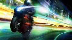 Image result for motorbike long exposure