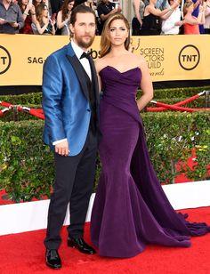 SAG Awards 2015: Matthew McConaughey e Camila Alves    por Thereza Chammas | Fashionismo       - http://modatrade.com.br/sag-awards-2015-matthew-mcconaughey-e-camila-alves