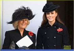 Catherine, Duchess of Cambridge and Camilla, Duchess of Cornwall during the Remembrance Day Ceremony at the Cenotaph on November 13, 2011 in London, United Kingdom. Politicians and Royalty joined the rest of the county in honouring the war dead by gathering at the iconic memorial to lay wreaths and observe two minutes silence.    Read more: http://willandkatedaily.com/page/PhotoViewer.aspx?aid=5674521399230720881=5674521507573125266#ixzz28Kzo8xl6