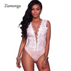 Bodysuits. Mesh JumpsuitBodycon JumpsuitBackless JumpsuitBlack Lace  BodysuitLace RomperWomens ... 446f6b9c3