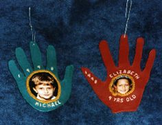 """""""Hand"""" Made Ornaments"""