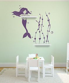 Take a look at this Violet It's A Mermaid Thing Wall Decal Set by Sissy Little on #zulily today!