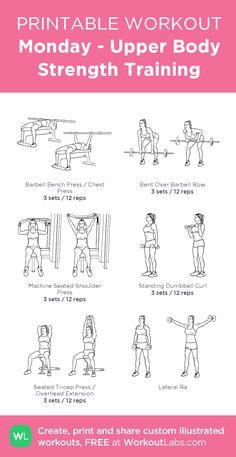 beginner upper body dumbbell workout my custom exercise