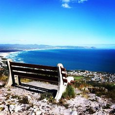 Hermanus - views over Walker Bay from the mountain behind Hermanus. Holiday Destinations, Travel Destinations, South Africa Tours, Seaside Village, Amazing Nature, Places To See, Tourism, Nature Photography, South Africa