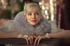 Carey Mulligan exibe o resplendor da Belle Epoque em O Grande Gatsby.