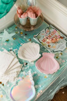 Zarie's Under the Sea Party 2nd Birthday Party Themes, Mermaid Theme Birthday, Little Mermaid Birthday, 5th Birthday, Ocean Party, Water Party, Birthday Traditions, Under The Sea Party, Woman Costumes