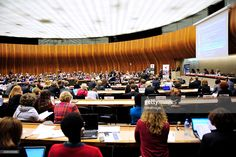 --Nov 6, 2014--The regional review meeting of the status of women in the UNECE region 20 years after the Beijing platform for action held at the United Nations Office at Geneva on November 6, 2014 in Geneva, Switzerland.