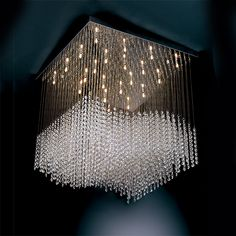 Colored modern Crystal Chandeliers | Modern Crystal Chandelier Josephine - MO002