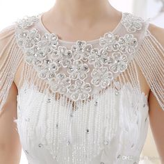 Bling Bling Bridal Bolero Fancy Wedding Accessories Romantic Style Summer Bridal Wraps Free Size 2016 Eye Catching Fast Delivery Wedding Accessories Bridal Bolero Lace Bolero Online with $78.86/Piece on Lpdress's Store | DHgate.com