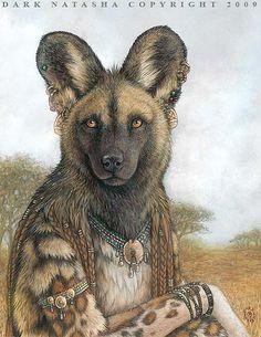 Animal Illustrations by Natasha