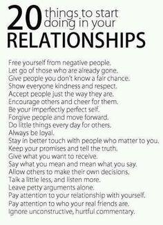 Make your relationships better.