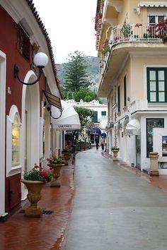 Via Camerelle, Capri, Italia