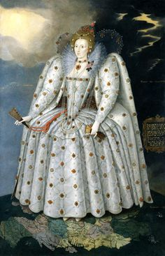 Queen Elizabeth I ('The Ditchley portrait') by Marcus Gheeraerts the Younger. Queen Elizabeth I ('The Ditchley portrait'), by Marcus Gheeraerts the Younger. Elizabeth I, Elizabeth Bathory, Anne Boleyn, Tudor History, British History, European History, Hans Holbein Le Jeune, Isabel I, Norton Anthology
