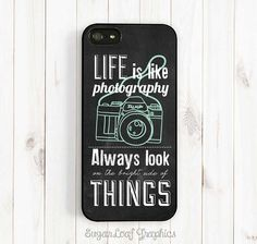 Chalkboard iPhone Case Photography Quote by theSugarloafBoutique, $15.95