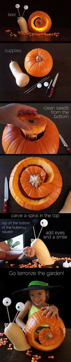 DIY Pumpkin Carving Idea