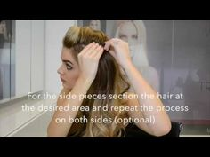 Easilocks Clip In Hair Extensions How To Tips - YouTube